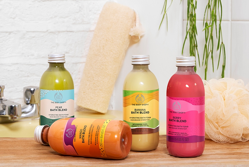 The Body Shop: bath smoothies