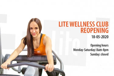 Lite Wellness Club reopens