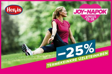 Hervis JOY-days: 25% off