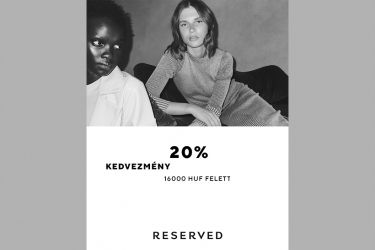 Reserved promotion: 20% off