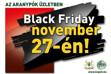 Black Friday in Aranypók