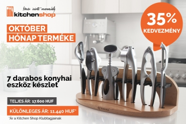 7 kitchen ustensils from ZOKURA with 35% discount.