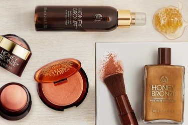 The Body Shop - Sun-kissed look