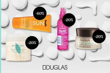 Up to 60% off at Douglas