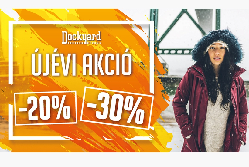 Dockyard new year sale